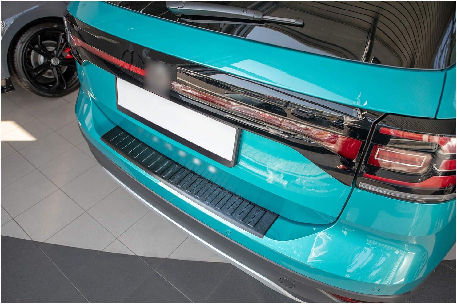 Tuning Art L373 Edelstahl Ladekantenschutz Für Vw T Cross C1 2018 5 Jahre Garantie Farbe Anthrazit Auto