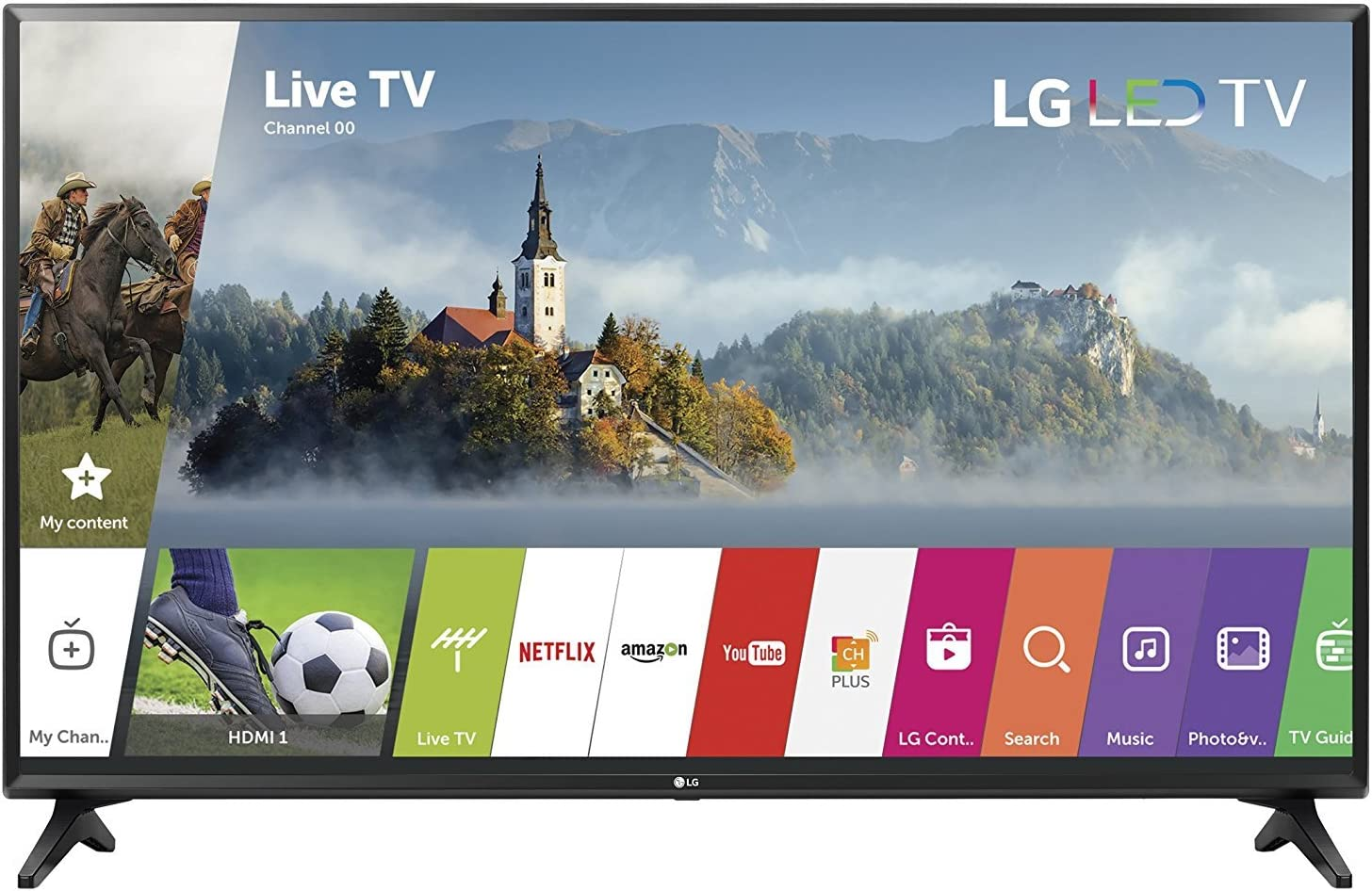 LG 49LJ5500 LED 1080p 60 Hz Full HD Smart TV 49