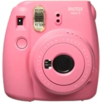 Fujifilm Instax Mini 9 Instant Camera, Flamingo Pink