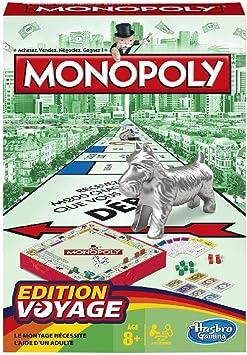 Monopoly - Juego de Mesa de Viaje (versión Francesa): Amazon.es: Juguetes y juegos