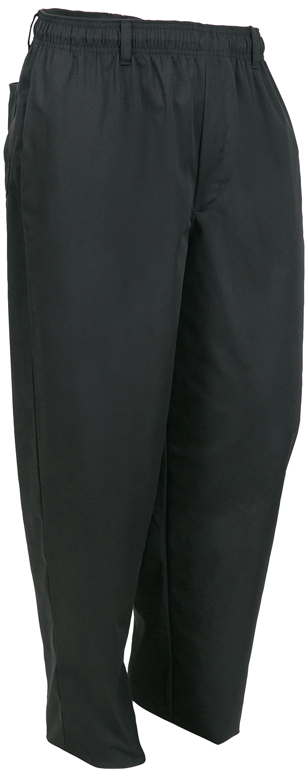 Mercer Culinary M60050BK6X Millennia Men's Cook's Pants, 6X-Large, Black by Mercer Culinary