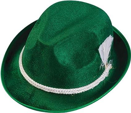 2228bb2d Amazon.com: Oktoberfest Green Alpine Hat: Clothing
