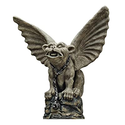 Design Toscano Chained Cathedral Gargoyle Statue : Outdoor Statues : Garden & Outdoor