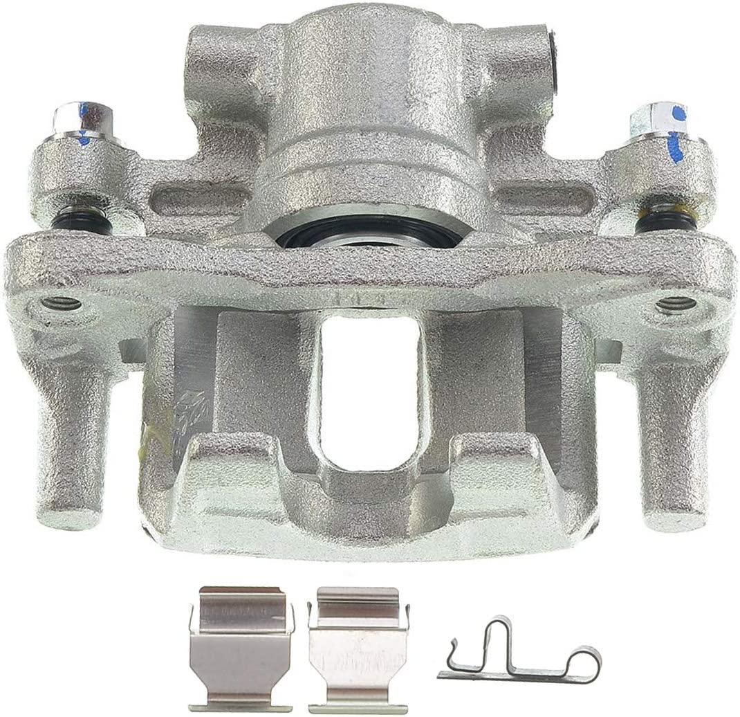 A-Premium Brake Caliper with Bracket for Chrysler 200 Cirrus Sebring Dodge Avenger Caliber Jeep Compass Patriot Mitsubishi Lancer 2007-2017 Rear Left and Right 2-PC
