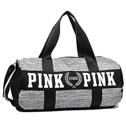42e7ca7764 Amazon.com  VICTORIA S SECRET PINK DUFFLE TRAVEL WEEKENDER GYM BAG SHOULDER  BAG  Everything Else