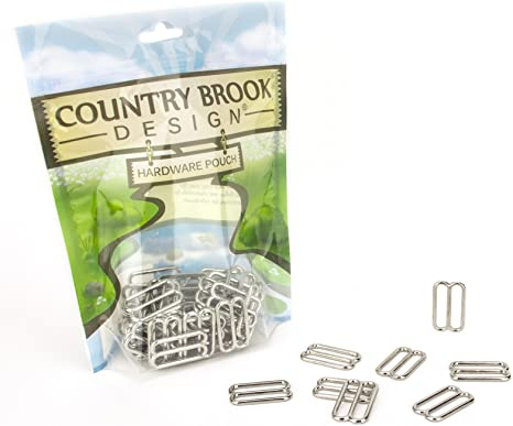 Country Brook Design 20 1 Inch Metal Triglide Slides