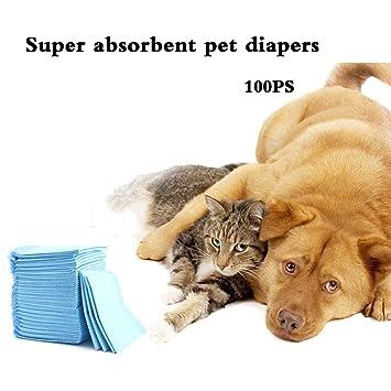 shanzhizui Incienso de limón desodorante Almohadilla para mascotas Pañales para perros Pañales para incontinencia de perro