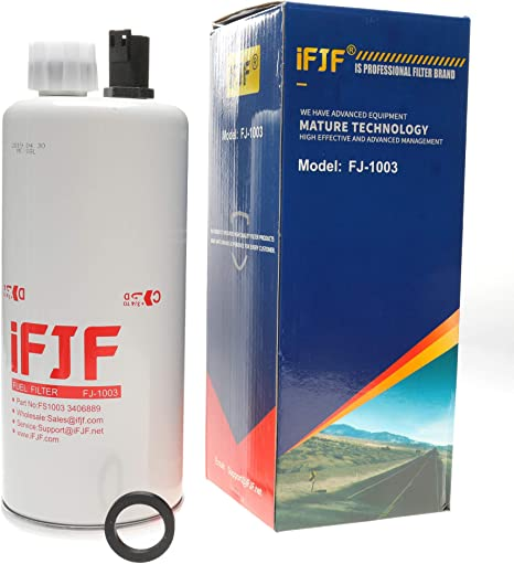 FS1003 Fuel Water Separator Filter Spin On for Cummins Engines NEW