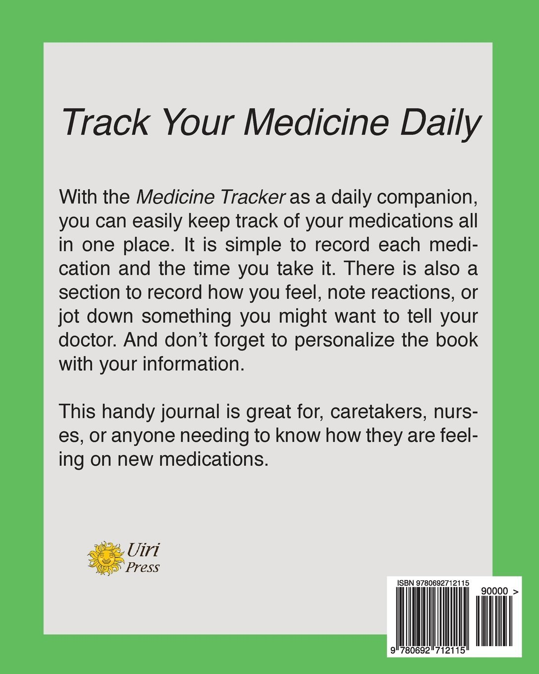 medicine tracker life log books 9780692712115 amazon com books