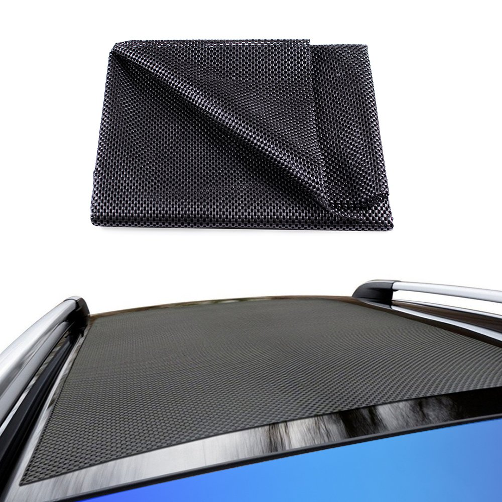 Life-Mate Car Roof Cargo Carrier Protective Mat Anti Slip Roof Rack Pad with Extra Padding for Cargo Storage Bags Roof Top Carriers. by Life-Mate (Image #1)