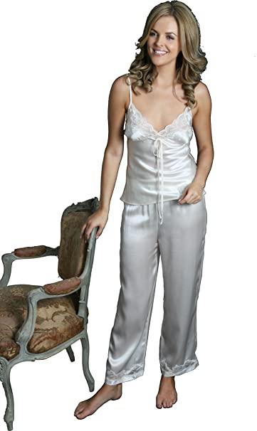 Silk Cocoon - Pijama - para Mujer Marfil Perla L