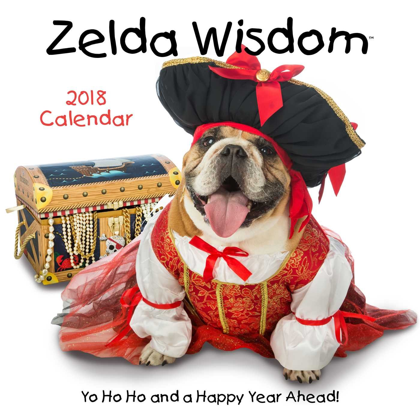 Zelda Wisdom 2018 Wall Calendar product image