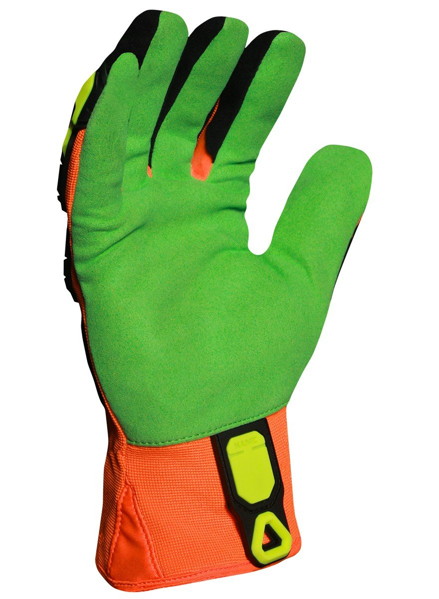 Ironclad LPI-OC5-07-XXXL Low Profile Impact Open Cuff Cut 5 Oil & Gas Safety Gloves, XXX-Large by Ironclad (Image #2)