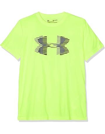 af0b20df7 Under Armour Children's Tech Big Logo Solid Tee Short-Sleeve Shirt