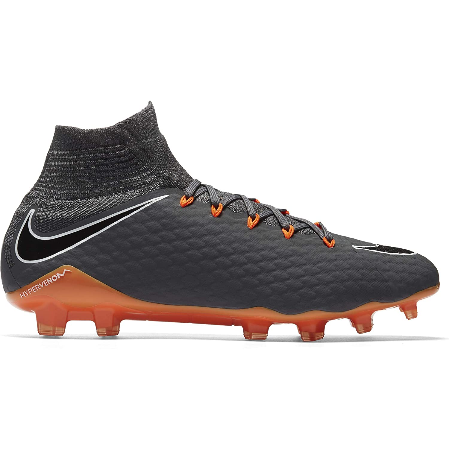 8265d42666f4 Amazon.com | Nike Hypervenom Phantom 3 Pro DF FG Cleats [Dark Grey] (10.5)  | Soccer