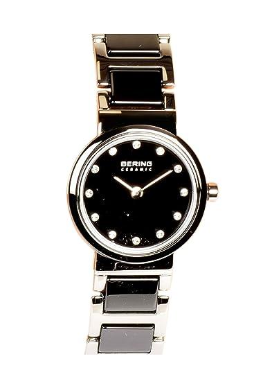 Bering 10725-742 - Reloj de pulsera para mujer (cerámica), color negro
