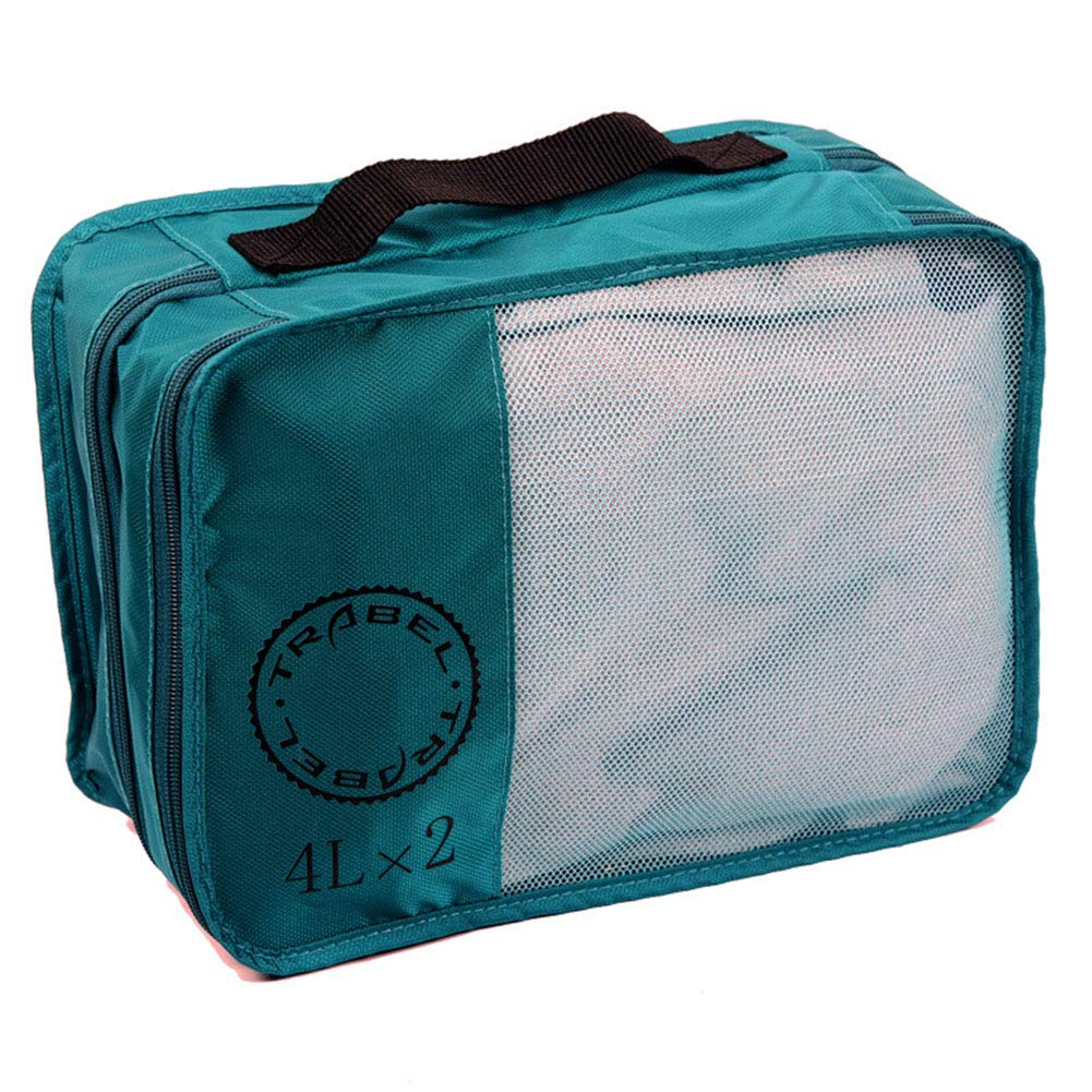 Portable Nylon Organizer Personalized Compact Packing Cubes for Travel Tanmaimoos Waterproof Lightweight Storage Bag