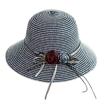 Darringls Sombrero de Paja, Gorras de Hombre Mujer Unisex Mujer ...
