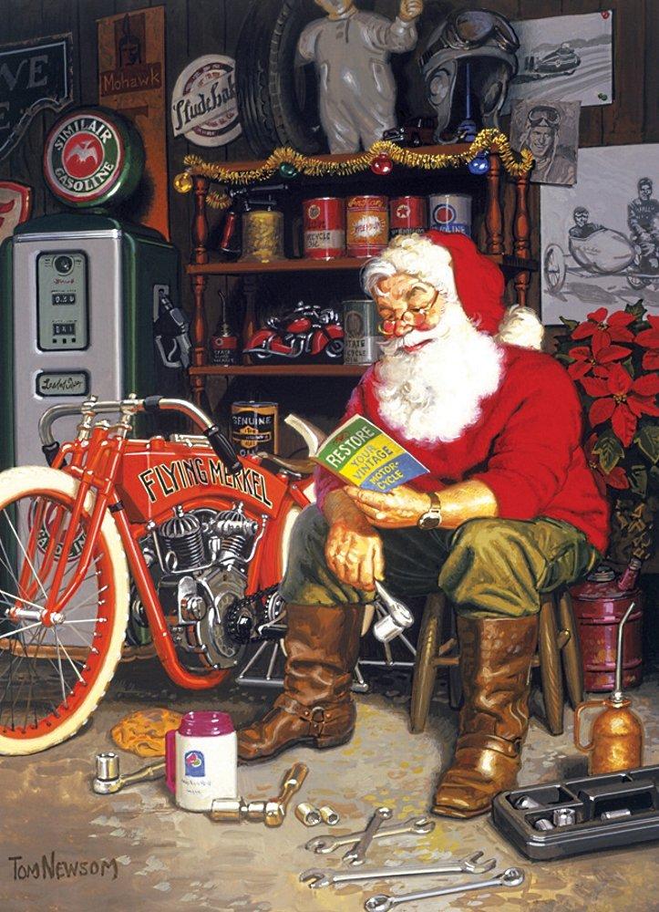 Santa's Flying Merkel Puzzle, 1000-Piece