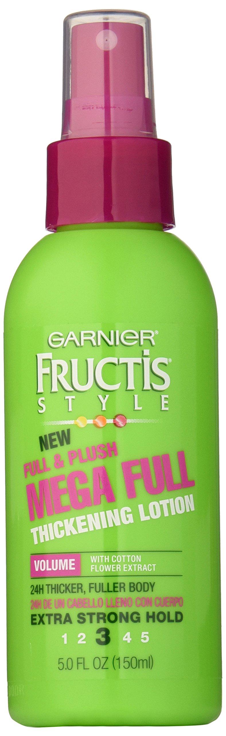 Garnier Hair Care Fructis Style Full and Plush Mega Full Thickening Lotion, 5 Fluid Ounce