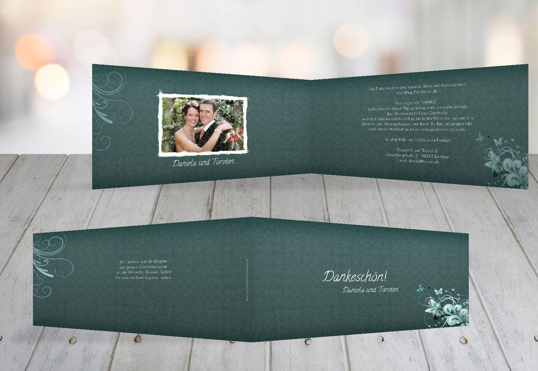 Kartenparadies Danksagung für Hochzeitsgeschenke Hochzeit Danke Din Liebeswunder, hochwertige Danksagungskarte Hochzeitsglückwünsche inklusive Umschläge   10 Karten - (Format  215x105 mm) Farbe  DunkelGelb B01N7UR3UK   Neues Produkt