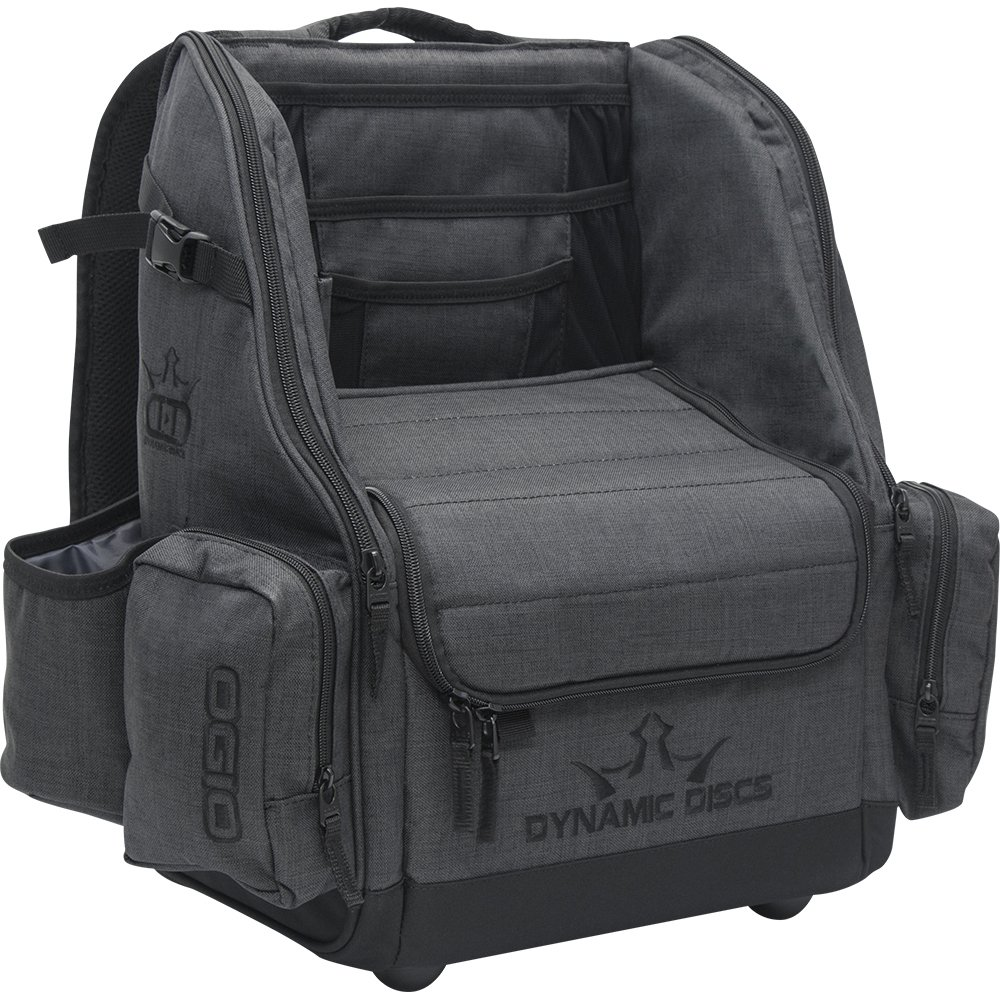 Dynamic Discs Commander Backpack Disc Golf Bag (Heathered Gray) by Dynamic Discs