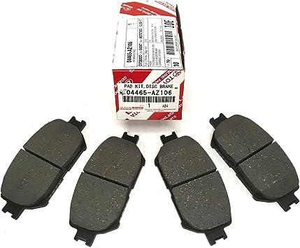 Toyota Genuine Parts 04465-33240 Front Brake Pad Set