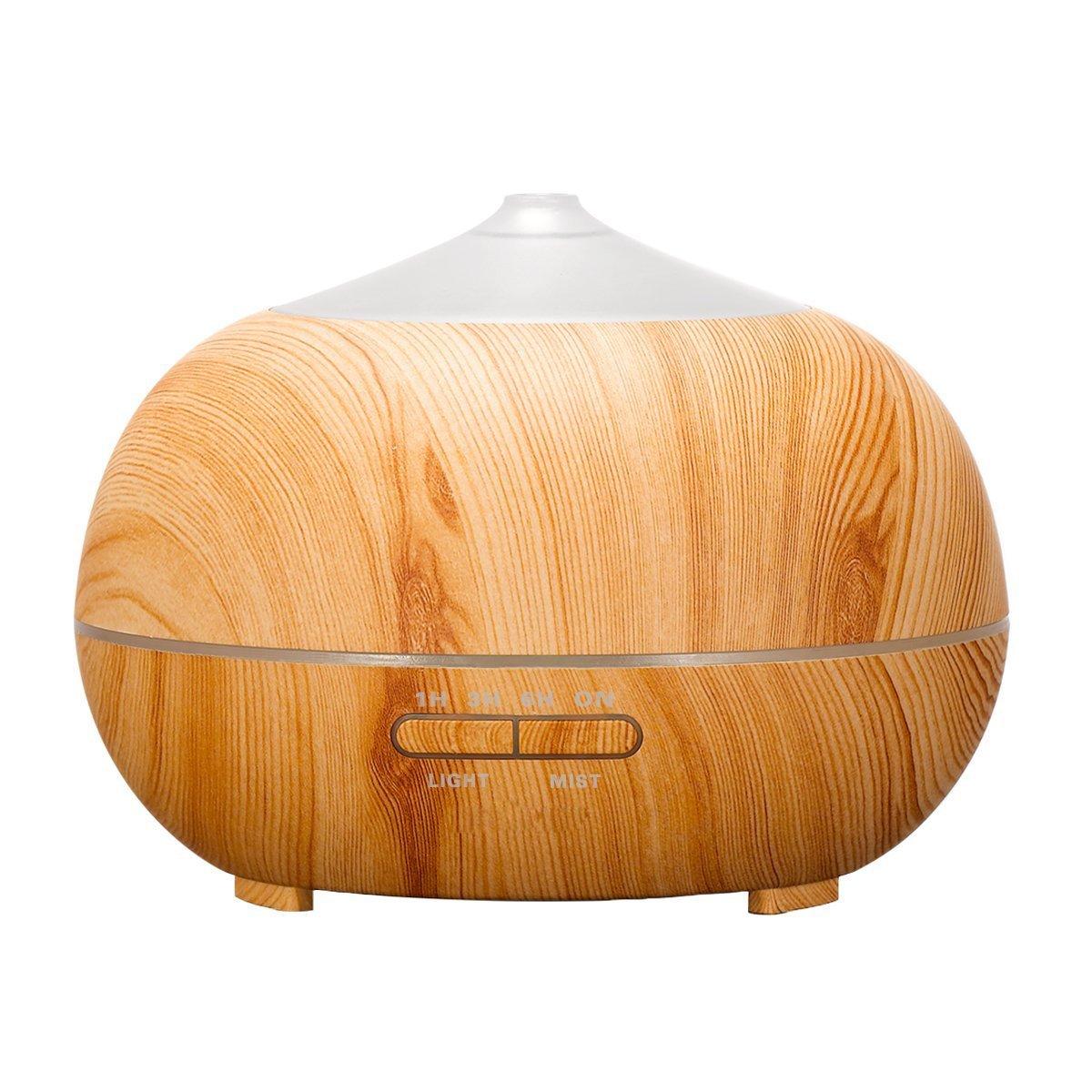 Tenswall ml Humidificador ultrasónico Difusor aromatherapie humidificador de aceites esenciales humidificador grano