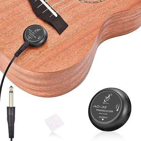 OTraki Guitarra Piezo Pickup, Pastillas Fonocaptoras para ...