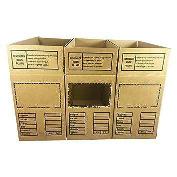 100 x cajas de cartón de bdcm Bulk distribución caja Métricas 23,5 x 11