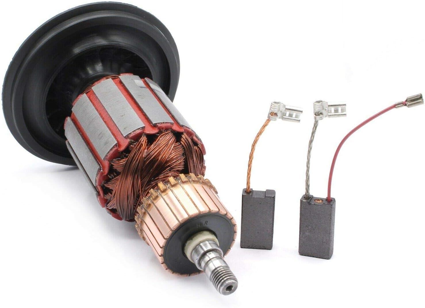 Rotor du moteur pour Bosch type GBH5-40DE GBH5-40DCE GSH5E GSH5CE 1614011098