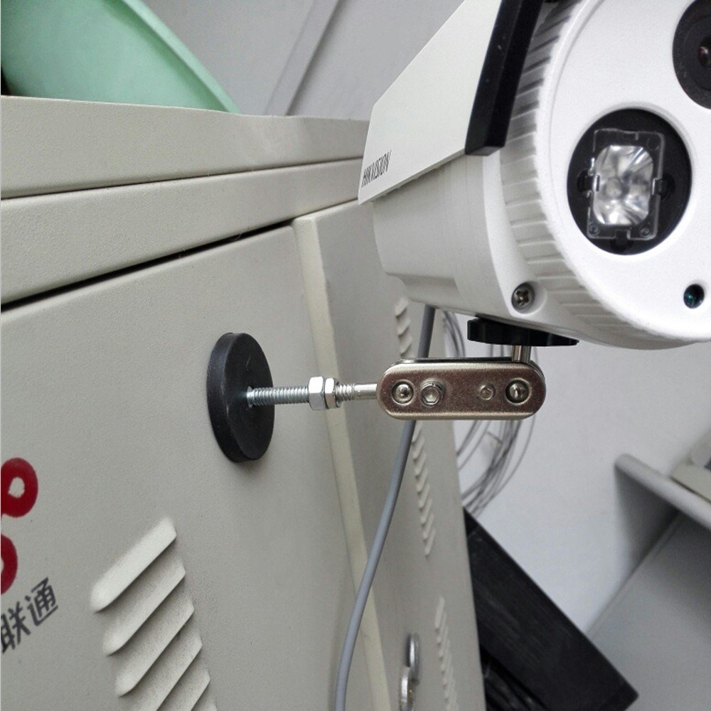 verticale magnetica pull-force 9.0/kg Mutuactor 4pcs gomma montaggio in neodimio magnete pot con filettatura M6/maschio a perno