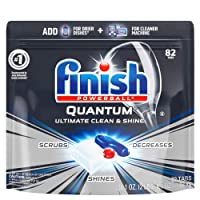 Deals on 82-Count Finish Quantum Dishwasher Detergent Tabs