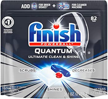 82-Count Finish Quantum Dishwasher Detergent Tablets