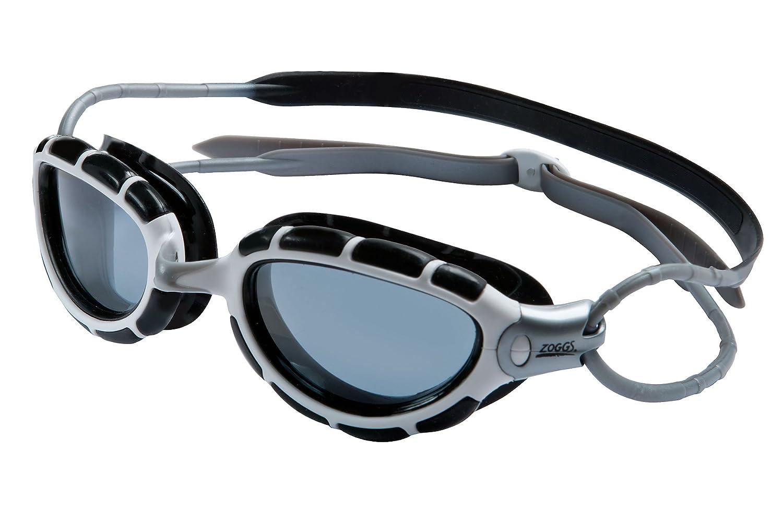 Zoggs Predator Polarized L/XL (Black-White/Smoke) - Swim Goggle - 315869-101, S/M, Negro/Blanco/ Humo: Amazon.es: Deportes y aire libre