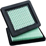 HOODELL 2 Pack 17211-zl8-023 Air Filter, Compatible for Honda gcv160 gcv190, Husqvarna 7021p, Premium Lawn Mower Air Cleaner