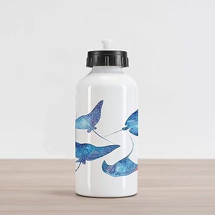 Amazon.com: Lunarable Underwater Aluminum Water Bottle ...
