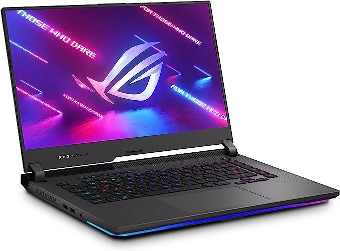 "ASUS ROG Strix G15 (2021) Gaming Laptop, 15.6"" 300Hz IPS Type FHD Display, NVIDIA GeForce RTX 3050 Ti, AMD Ryzen R7-5800H, 16GB DDR4, 1TB PCIe SSD, RGB Keyboard, Windows 10, Black, G513QE-ES76   Amazon"