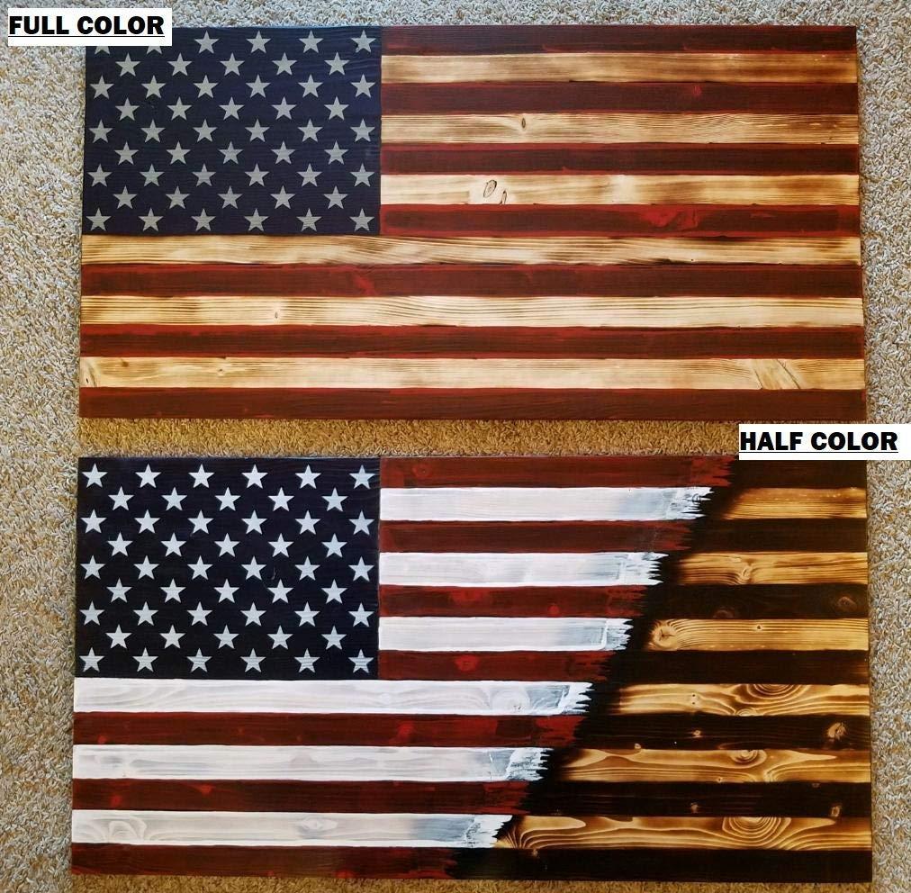 Rustic Wood Flags