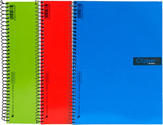 Acan Pack de 3 Cuadernos Doble pauta de Tapas Blandas 4º: Amazon ...