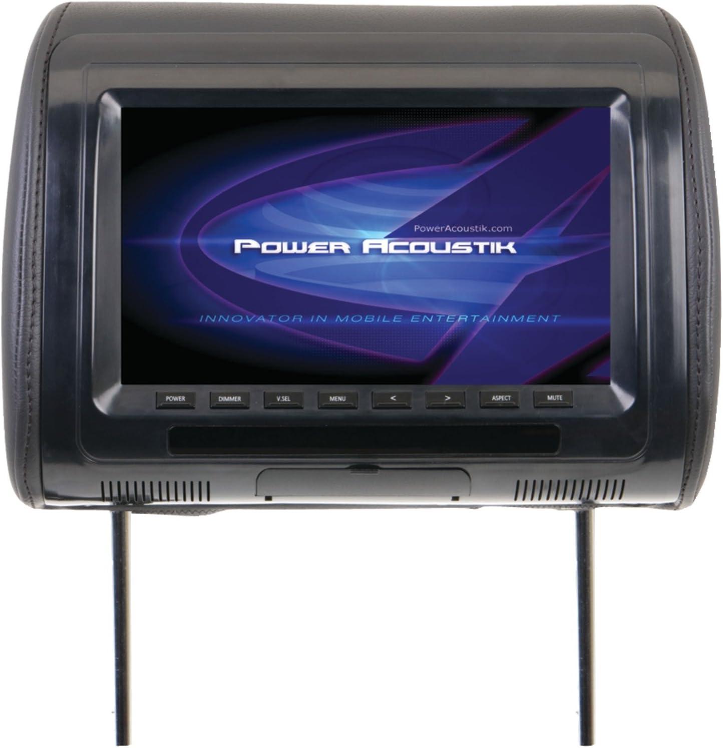 Power Acoustik PHDM103 PA 1080P 10.3-Inch HEADREST Monitor 3 Skin