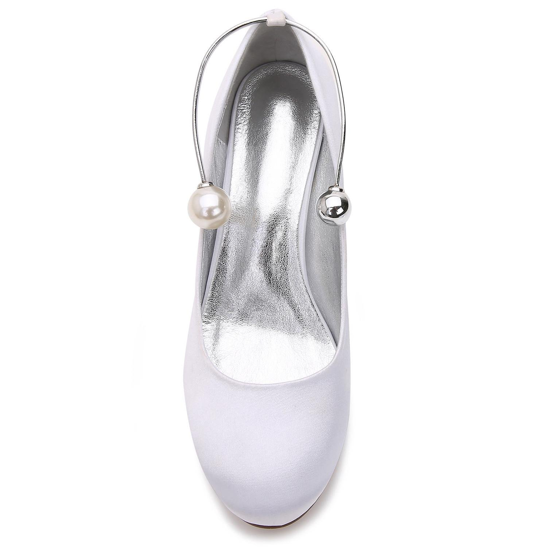 Damen High Heels Hochzeit Ball T-17061-63 Closed Toe Perlen Perlen Perlen Abend Party & Hochzeit Benutzerdefinierte Schuhe  64017e