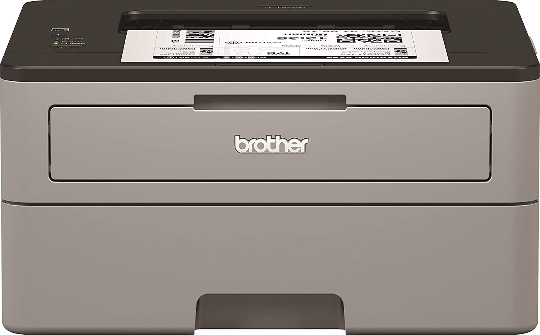 Brother HLL2310D - Impresora láser monocromo dúplex (30 ppm, USB 2.0, procesador de 600 MHz, memoria de 32 MB), Gris
