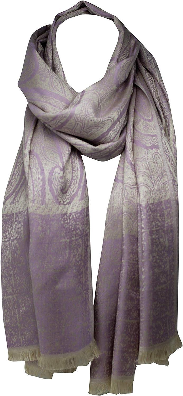 Bullahshah Papillon imprim/é foulards imprim/és de feuille de coton doux ch/âle Wrap Sarong /étole foulard