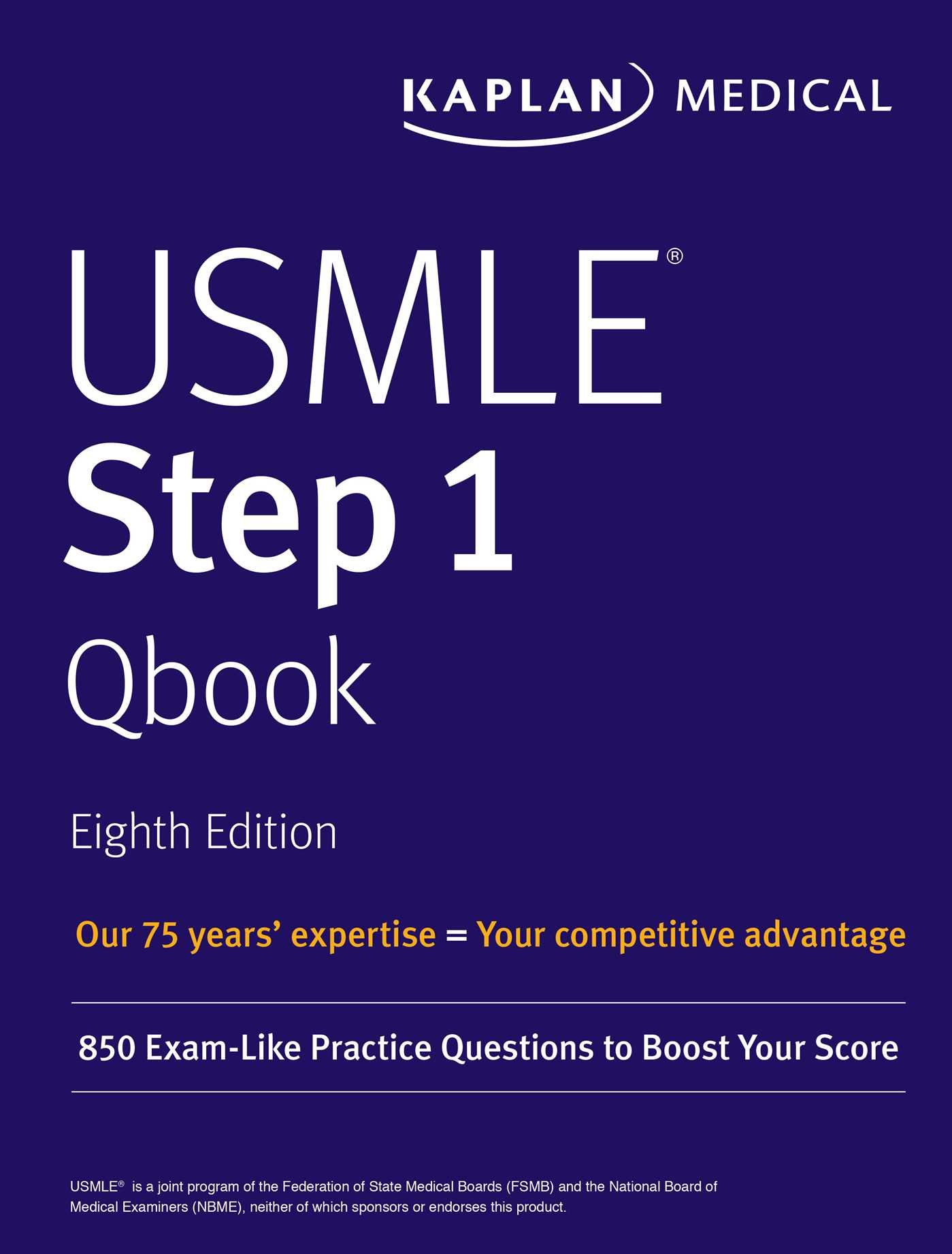 Buy USMLE Step 1 Qbook: 850 Exam-Like Practice Questions to