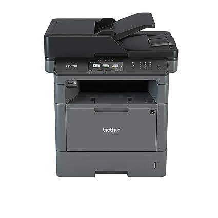 Brother MFC-L5750DW - Impresora multifunción láser monocromo (bandeja 250 hojas, 40 ppm, USB 2.0, memoria de 256 MB, doble cara automática, Ethernet, ...