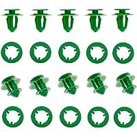 50 Stks Interieur Deurkaart Trim Panel Montage Clips A0009912771 Groen Plastic Compatibel Met Sprinter Vito Viano W639…