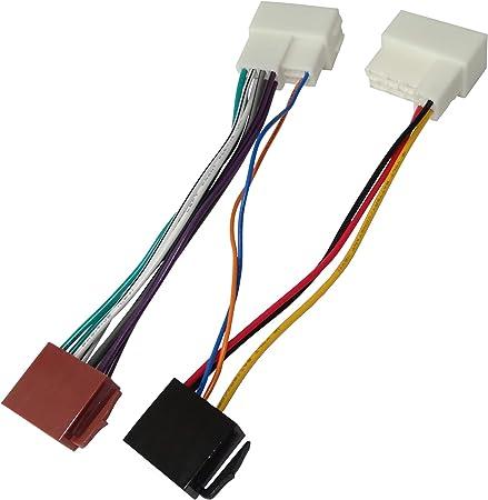 Aerzetix C40112 Adapter Kabel Stecker Iso Verbindungskabel Für Autoradio Auto