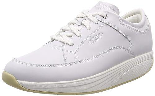 MBT Reem 6 M Lace Up, Zapatillas de Estar por casa para Hombre, Blanco (White 16), 44 EU: Amazon.es: Zapatos y complementos