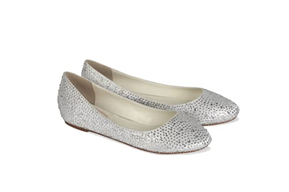 f17baa6b42be8 Image Unavailable. Image not available for. Colour  Twilight Ivory Wedding  Shoes ...